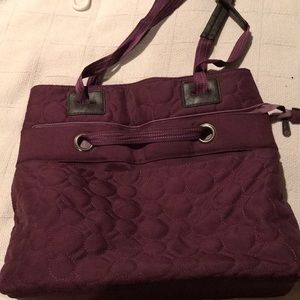 Thirty-One Like New Convertible Tote, Purple
